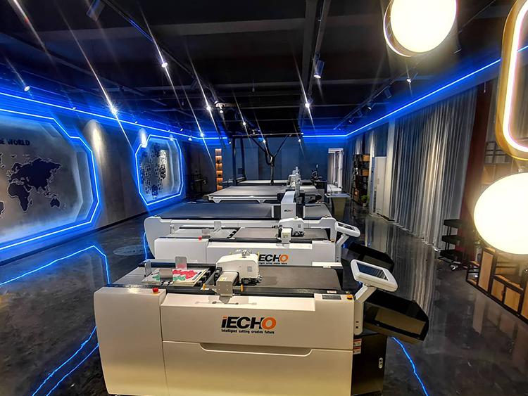 IECHO New Showroom-Intelligent Cutting Creates Future