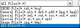 Los tipos de archivos reconocibles son diversos