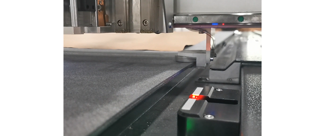Sistema de inicialización automática de cuchillas
